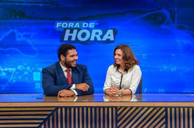 """""""Fora de Hora"""", novo programa humorístico da Globo, estreia satirizando o noticiário real Estevam Avellar/Globo,Divulgação"""