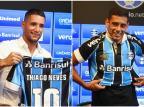 Cacalo: contratações mostram que o Grêmio deve ter um jogo cadenciado Lucas Uebel / Grêmio/Divulgação/Grêmio/Divulgação