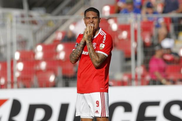 José Alberto Andrade: chance desperdiçada pelo Inter em Santiago JAVIER TORRES/AFP