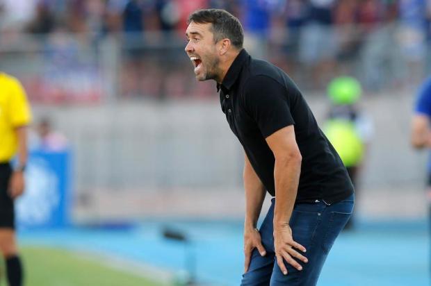 Guerrinha: classificação do Inter depende do técnico Eduardo Coudet JAVIER TORRES/AFP