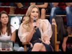 """Paula, vencedora do """"BBB 19"""", tenta defender Petrix no """"Altas Horas"""": """"É perigoso ele cair numa depressão profunda"""" Reprodução / Globo/Globo"""