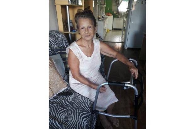 Idosa sofre com à espera de cirurgia no quadril Arquivo Pessoal / Arquivo Pessoal/Arquivo Pessoal