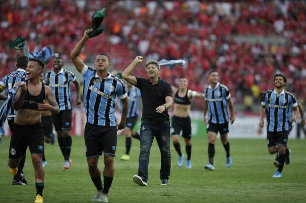 Cacalo: Renato deu um banho de estratégia em seu adversário no Gre-Nal André Ávila/Agencia RBS