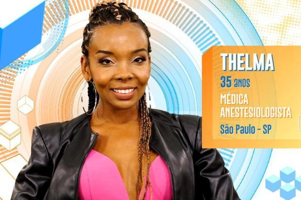 Thelma acorda chorando de fome e Lucas volta a ser criticado nas redes sociais TV GLOBO/Divulgação