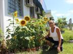 Bom exemplo: moradora de Sapucaia do Sul embeleza pátio de UBS com o cultivo de um jardim Divulgação/Prefeitura Sapucaia do Sul