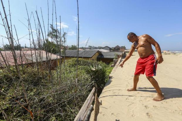 Proximidade de dunas preocupa morador de Imbé Marco Favero/Agencia RBS