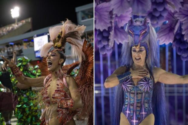 De Juliana Paes a Claudia Raia: as famosas que vão fazer falta na avenida Mauro Pinheiro / AFP/AFP