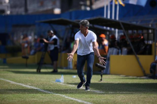 Cacalo: Grêmio está escalado para o clássico Jefferson Botega/Agencia RBS