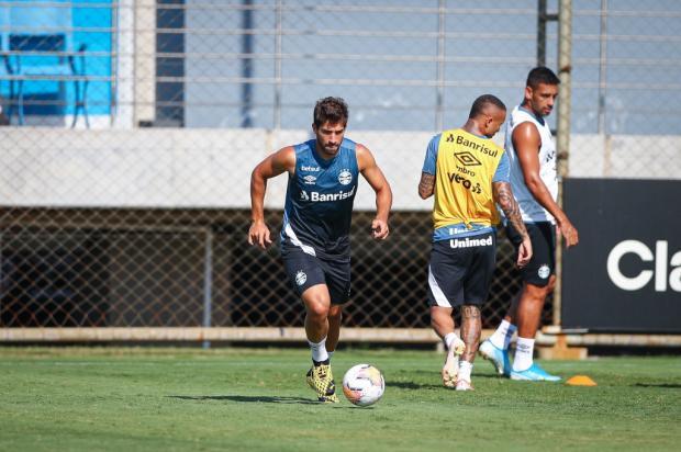 Guerrinha: a contratação do Grêmio que caiu nas graças da torcida Lucas Uebel / Divulgação/Grêmio/Divulgação/Grêmio