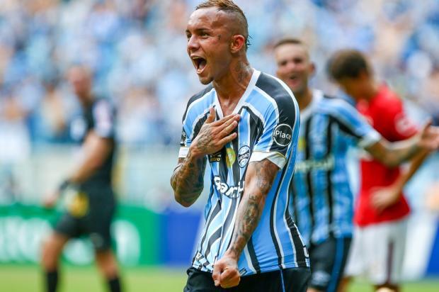 Cacalo: a passagem de Everton pelo Grêmio será inesquecível Lucas Uebel / Grêmio/Divulgação/Grêmio/Divulgação
