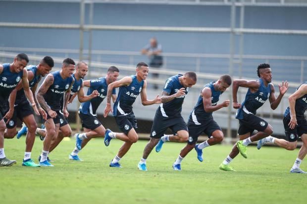 Cacalo: o ano do futebol terá de ser começado do zero LUCAS UEBEL/Grêmio