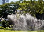 Empresa testa drones para desinfecção de ruas em Porto Alegre Daniel Estima Bandeira/Divulgação SkyDrones