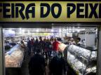 Mercado Público registra movimento grande em primeiro dia de atendimento especial Mateus Bruxel/Agencia RBS