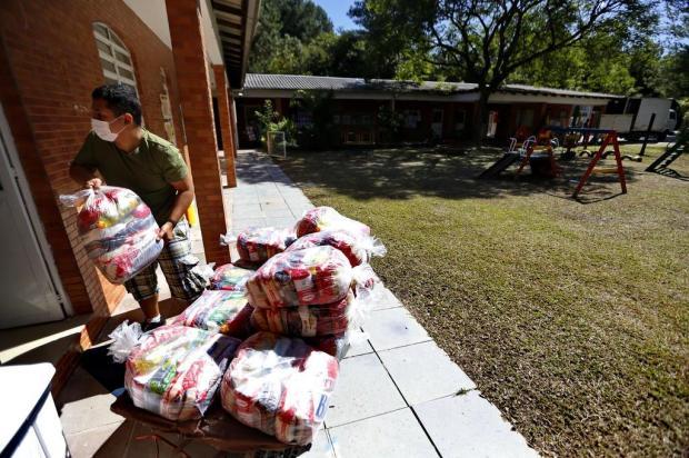Banco de Alimentos entrega 16 toneladas em doações a instituições de Porto Alegre Lauro Alves/Agencia RBS