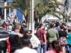 Lotéricas e agências da Caixa registram filas de trabalhadores em busca do auxílio de R$ 600 André Ávila/Agencia RBS
