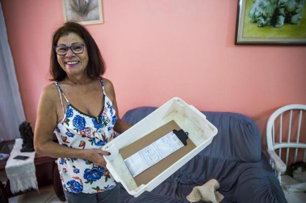 Nair recebeu ajuda do DG para organizar suas contas Omar Freitas/Agencia RBS