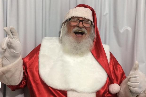 Com a ajuda do DG, Antonio descobriu a vocação para Papai Noel Arquivo Pessoal/Arquivo Pessoal