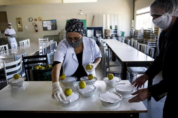 Restinga passa a contar com restaurante popular que oferece 100 almoços por dia Mateus Bruxel/Agencia RBS