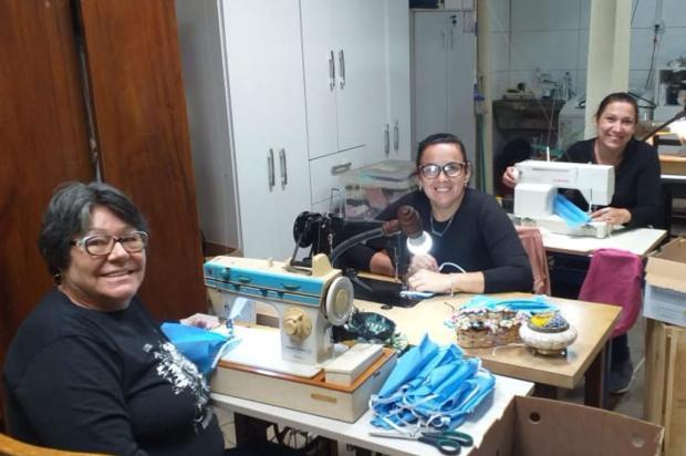 Costureiras da Região Metropolitana se unem para doar máscaras a quem precisa arquivo pessoal/arquivo pessoal
