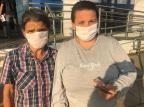 Após quase 12 horas na fila, mãe consegue retirar auxílio emergencial em agência da Caixa Tiago Bitencourt / Agencia RBS/Agencia RBS