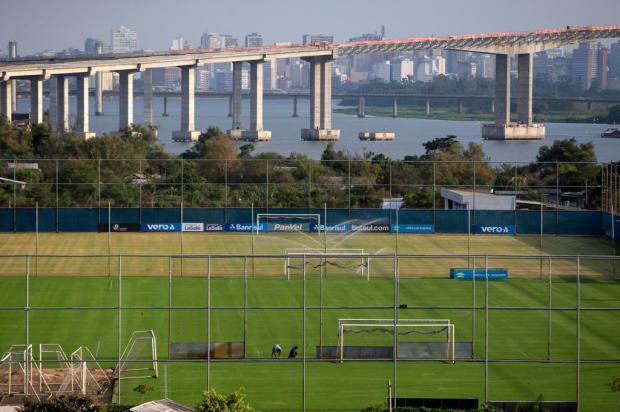 Cacalo: a volta dos atletas do Grêmio ao CT Luiz Carvalho Jefferson Botega/Agencia RBS