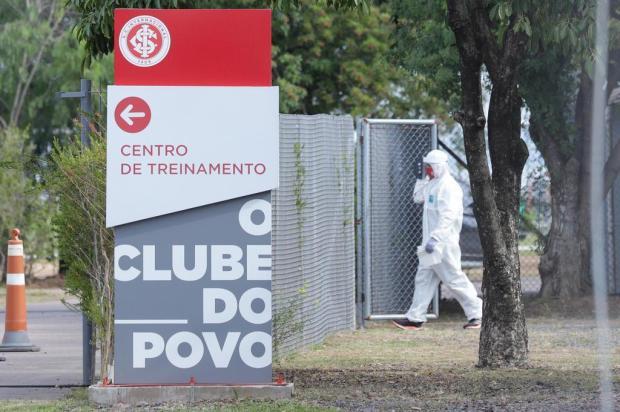 Guerrinha: a volta cheia de cuidados do Inter ao trabalho Isadora Neumann/Agencia RBS