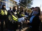 Fundação Thiago Gonzaga lança campanha para aumentar segurança de motoboys e entregadores na pandemia de coronavírus Félix Zucco/Agencia RBS