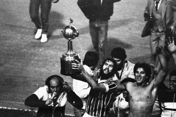 Cacalo: a primeira Libertadores a gente nunca esquece Agência RBS/Agencia RBS