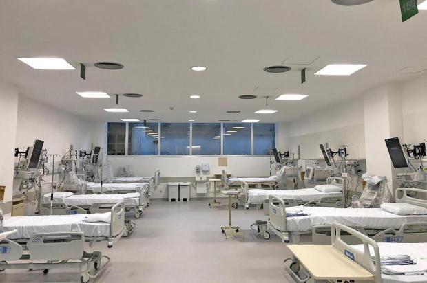 Hospital de Clínicas de Porto Alegre conta com mais 10 leitos de UTI para tratamento do coronavírus Clóvis de Souza Prates/HCPA/Divulgação