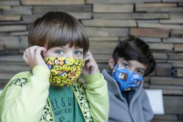 Veja como usar máscaras em crianças corretamente André Ávila/Agencia RBS