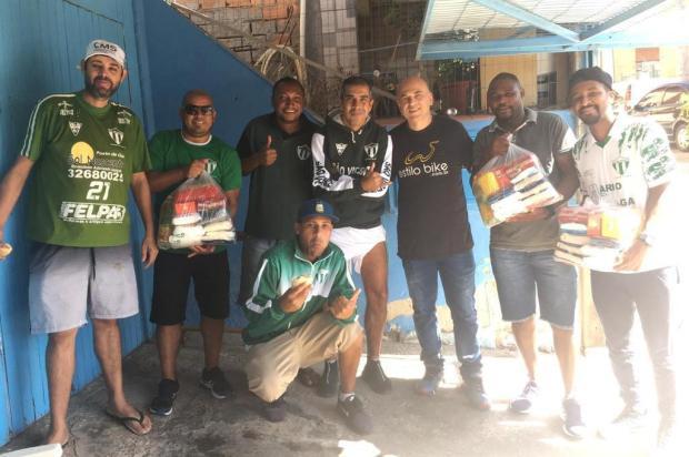 Na Vila Funil, sem futebol, time marca golaço de empatia e amor ao próximo Arquivo pessoal/Arquivo pessoal