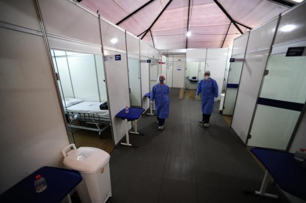 """Com avanço do coronavírus e sistema de saúde """"entrando no limite"""", Canoas suspende cirurgias eletivas Ronaldo Bernardi/Agencia RBS"""