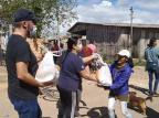 Sociedade espírita de Gravataí pede doações de leite e outros alimentos para seguir ajudando quem precisa Arquivo Pessoal/Arquivo Pessoal
