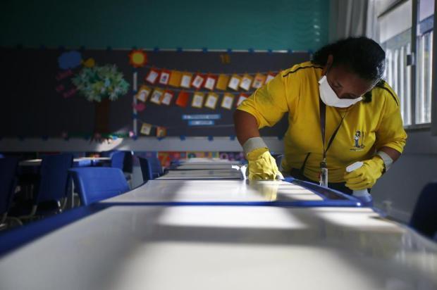 Como as escolas particulares estão se preparando para a volta às aulas Félix Zucco/Agencia RBS