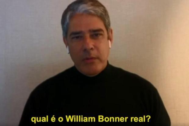 """""""Pessoas que hoje estão me xingando há dois anos batiam palmas"""", diz William Bonner Reprodução/Gshow"""
