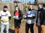 Iniciativa do Grupo RBS, Lebes e Renner distribui máscaras em Santa Maria Ronald Mendes/Especial
