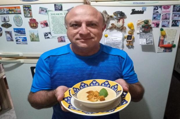 Creme de cebola do Jorge: opção quentinha e saborosa para os dias de frio Camila Bengo/Diário Gaúcho