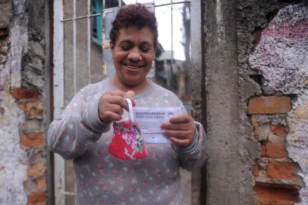 Iniciativa do Grupo RBS, Renner e Lebes distribui 200 mil máscaras no Estado e reforça importância do item Marcelo Casagrande/Agencia RBS