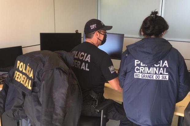 Estudante de psicologia está entre os presos pela PF por suspeita de armazenar pornografia infantil no RS Polícia Federal/Divulgação