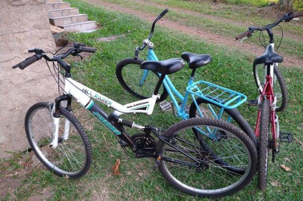 Soldado da BM reforma bicicletas abandonadas e doa para crianças e moradores do Vale do Paranhana Tiago Boff/Agencia RBS
