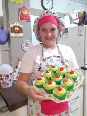 Cupcakes salgados da Franci Arquivo Pessoal/Arquivo Pessoal