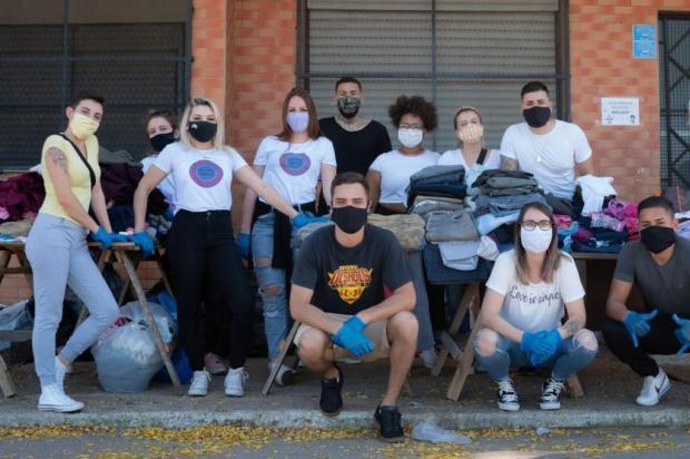Projeto busca voluntários para continuar realizando ações solidárias Arquivo pessoal/Arquivo pessoal