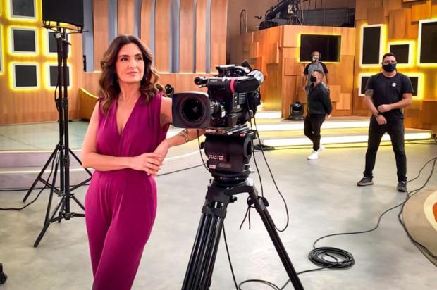 """Fátima Bernardes comemora os oito anos do """"Encontro"""": """"Foi evoluindo com a minha evolução"""" João Cotta/TV Globo,Divulgação"""