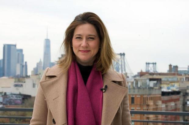 """""""É uma honra estar aqui para testemunhar e reportar tudo"""", diz Carolina Cimenti, correspondente da Globo em Nova York Arquivo Pessoal/Arquivo Pessoal"""