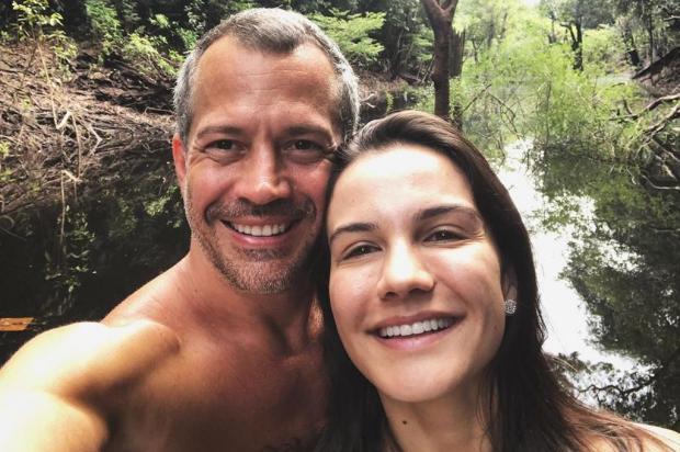 Malvino Salvador e Kyra Gracie revelam sexo do terceiro filho Malvino Salvador Instagram/Reprodução