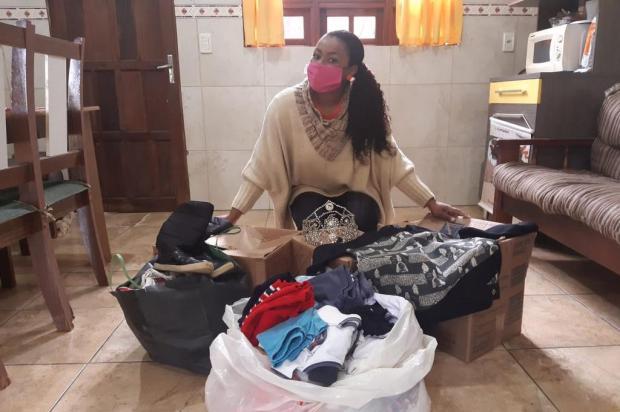 Iniciativa solidária de soberanas do Carnaval agora arrecada cobertores e agasalhos Arquivo Pessoal/Divulgação