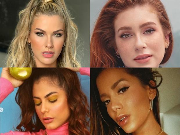 Confira quatro dicas de maquiagem para realçar os olhos Instagram / Reprodução/Reprodução