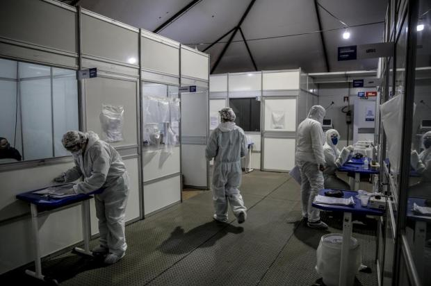 Como está a ocupação dos hospitais de campanha da Região Metropolitana Marco Favero/Agencia RBS