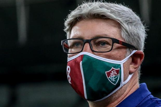 Cacalo: Odair teve de sair do clube em que trabalhou nos últimos anos para conquistar um título Divulgação/Fluminense