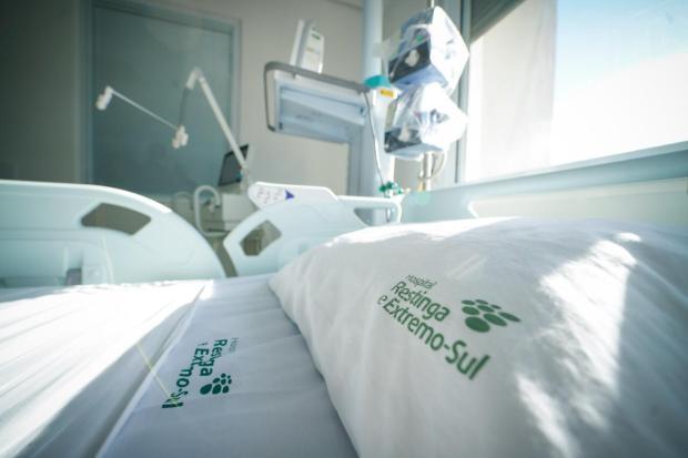Hospital da Restinga abre 10 leitos de UTI para pacientes com coronavírus Jefferson Bernardes / PMPA/PMPA